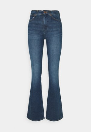 Flared Jeans - shadow blue