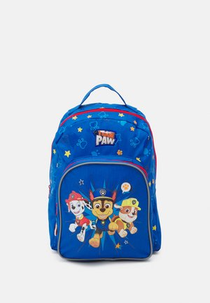 BACKPACK AND PENCIL CASE PAW PATROL TEAMWORK SET UNISEX - Plecak - blue