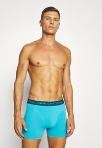 MUCHACHOMALO - PLASTIC 3 PACK - Pants - blue - 2