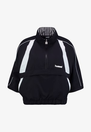 HALF ZIP - Vindjacka - black