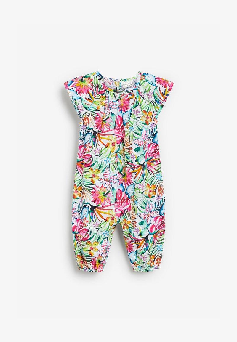 Next - FLORAL WOVEN - Jumpsuit - multi-coloured