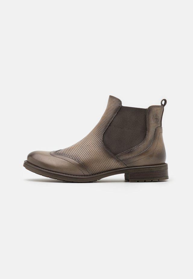 RONJA ECO - Boots à talons - light grey