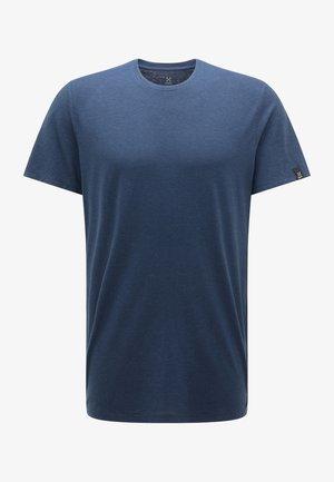 T-shirt - bas - tarn blue
