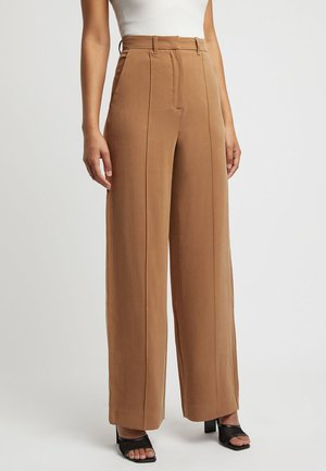 Trousers - rd-tan/brun