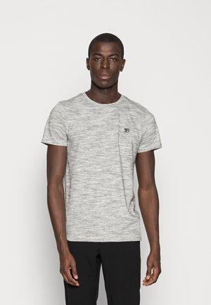 Camiseta básica - ecru/new space dye white
