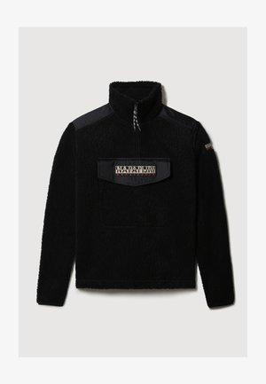 T-TRENTINO - Fleece jumper - black