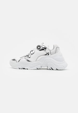 BILLY - Trainers - white/silver