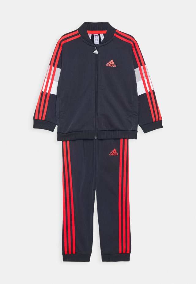 FAVOURITES TRAINING SPORTS TRACKSUIT BABY SET - Träningsset - dark blue/red