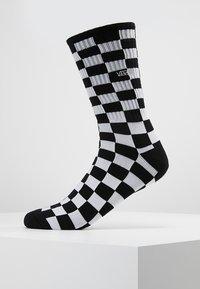 Vans - UA CHECKERBOARD CREW II (6.5-9, 1PK) - Sokken - black/white - 0