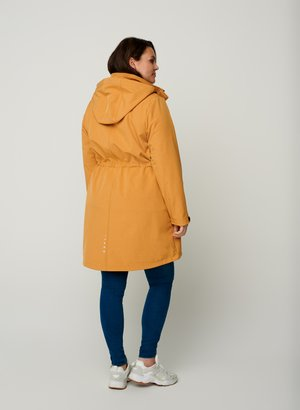 Outdoor jacket - curry yellow