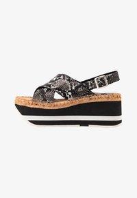 Replay - MYERS - Platform sandals - grey - 1