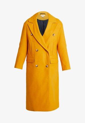 KIM - Classic coat - mustard