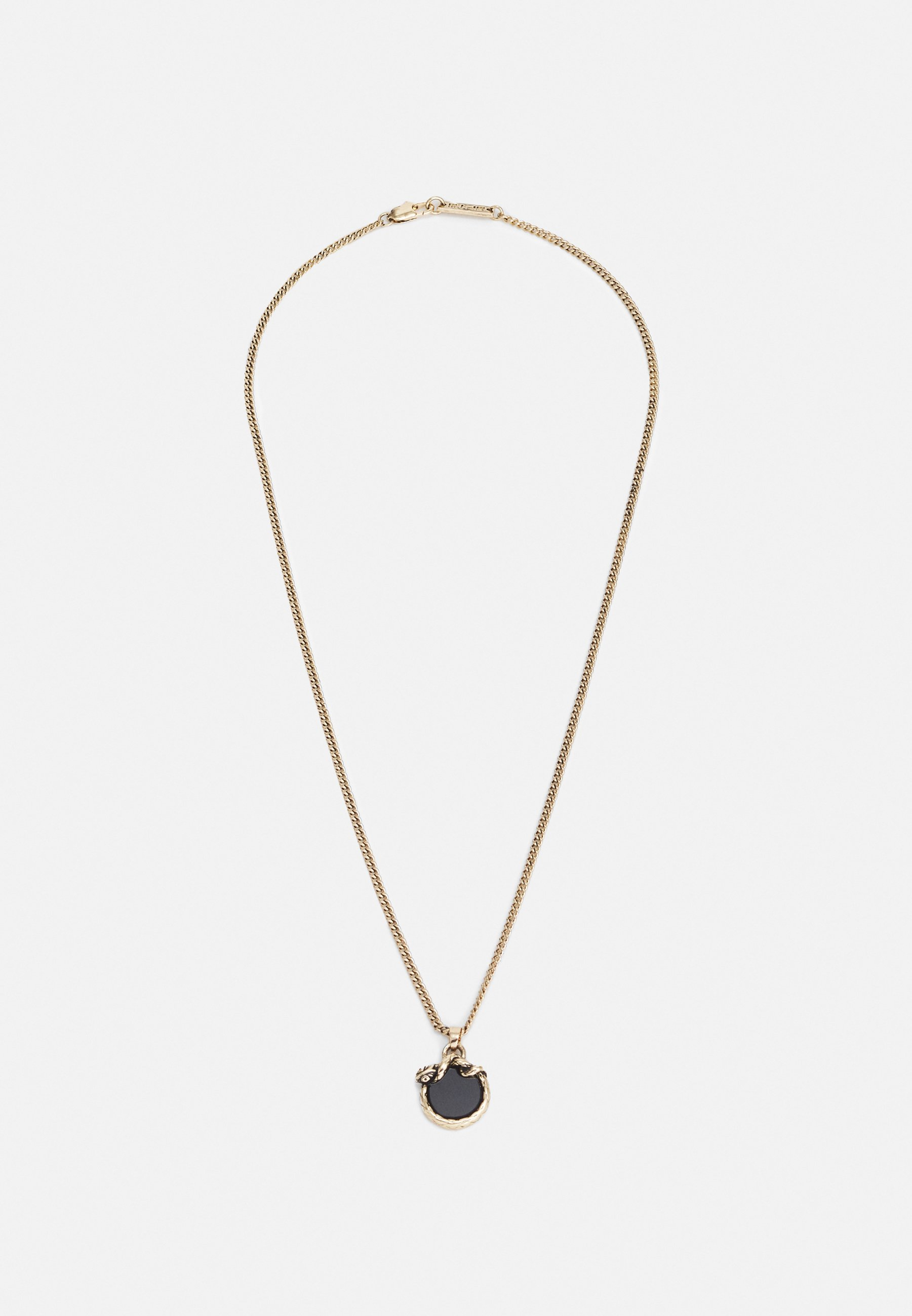 Homme WELCOME TO THE JUNGLE ENAMEL SNAKE NECKLACE - Collier