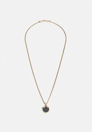WELCOME TO THE JUNGLE ENAMEL SNAKE NECKLACE - Ketting - gold-coloured