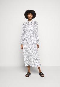 Bruuns Bazaar - THORA ALASKA DRESS - Shirt dress - white - 0