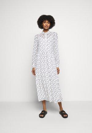 THORA ALASKA DRESS - Košilové šaty - white