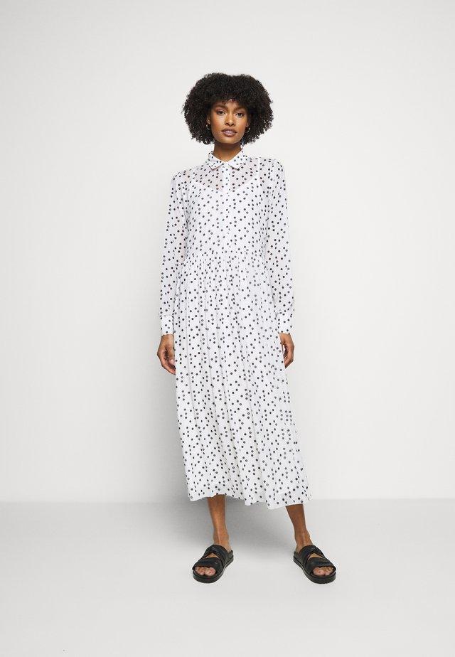 THORA ALASKA DRESS - Shirt dress - white