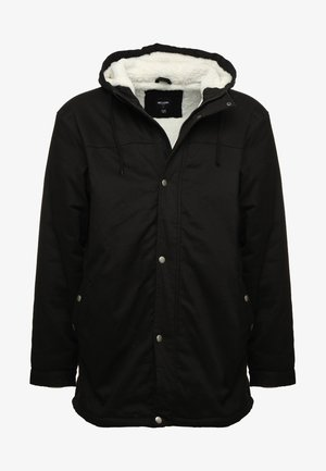 ALEX WITH TEDDY - Parka - black