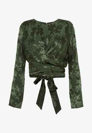 ONO BLOUSE - Blouse - deep forest