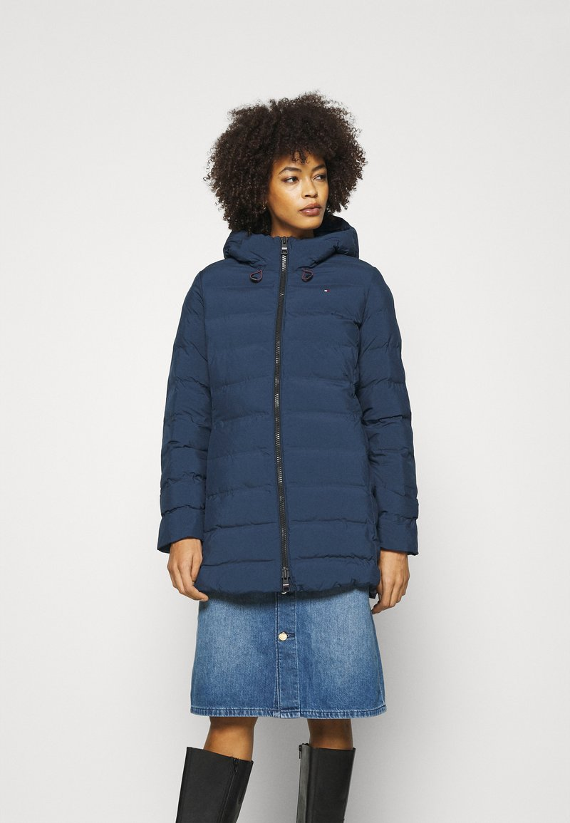 Tommy Hilfiger - SEAMLESS SORONA COAT - Light jacket - night sky