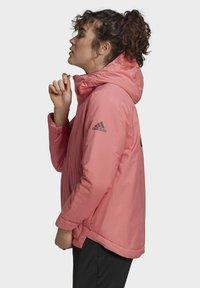 adidas Performance - Winter jacket - pink - 6