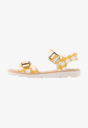 CROWN BLOOM - Sandals - yellow