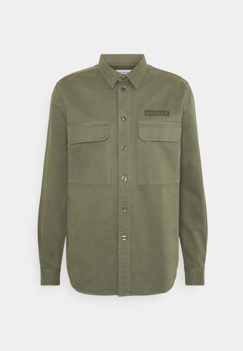 Woodbird - HOXEN WORK SHIRT - Shirt - green