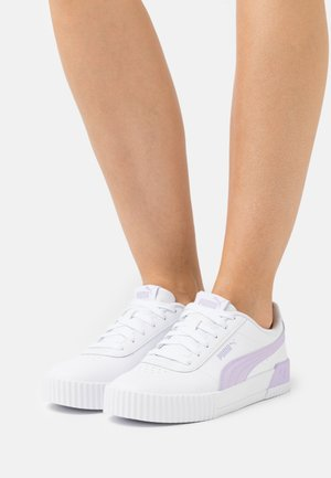 CARINA  - Sneakers laag - white/light lavender