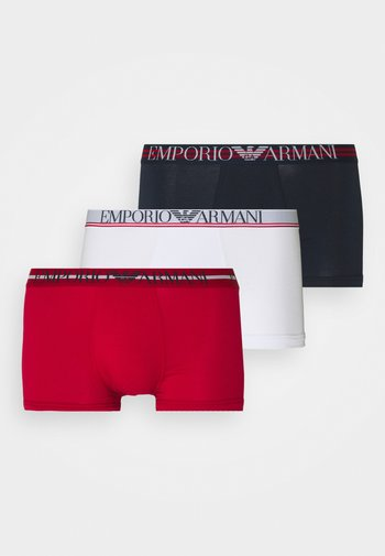 TRUNK 3 PACK - Pants - bianco/papaver/marin