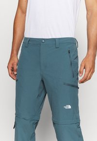 The North Face - EXPLORATION CONVERTIBLE PANT - Outdoor trousers - mallard blue - 7