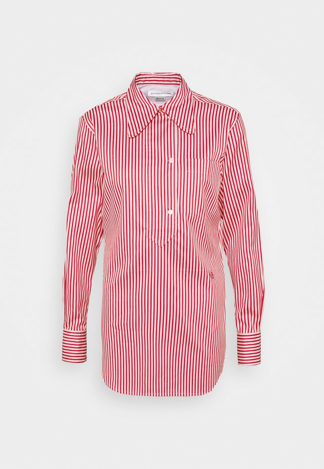 70'S COLLAR - Camisa - red/off white