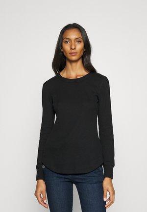 Long sleeved top - true black