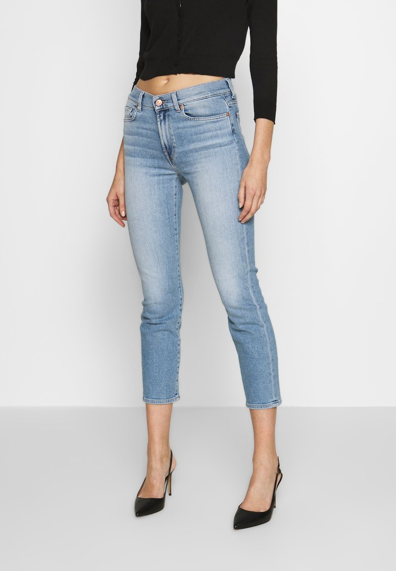 7 for all mankind - ROXANNE - Jeans Skinny - blue