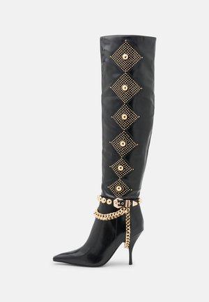 VIXXEN - High heeled boots - black