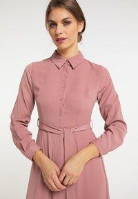 usha - Shirt dress - dunkelrosa - 3