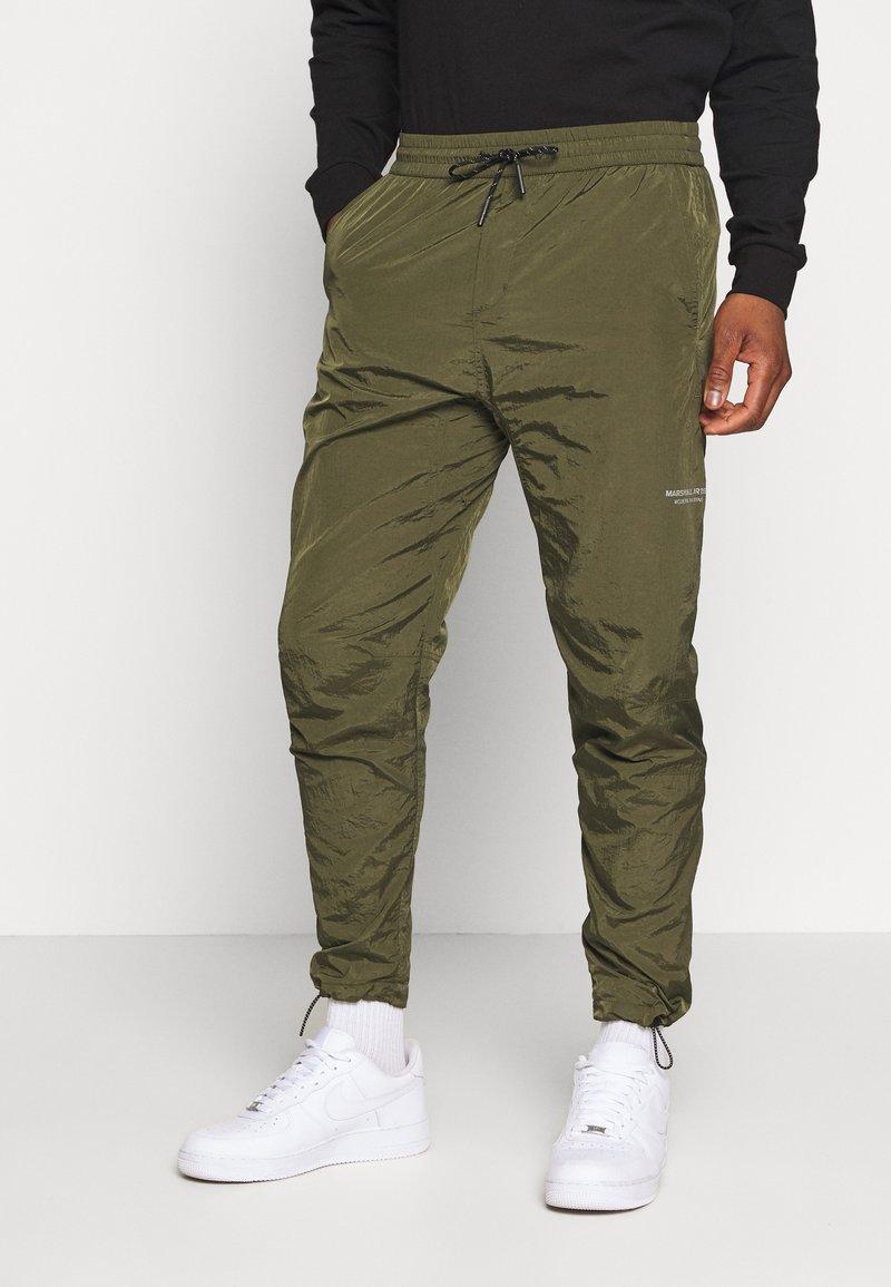 Marshall Artist - LIQUID TRACK PANT - Træningsbukser - khaki