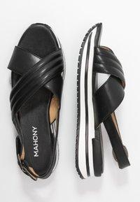 MAHONY - CLONE - Platform sandals - black - 3