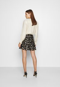 Fabienne Chapot - LOT SKIRT - Mini skirt - black/gold - 2