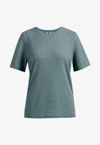 WE Fashion - Basic T-shirt - moss green - 5