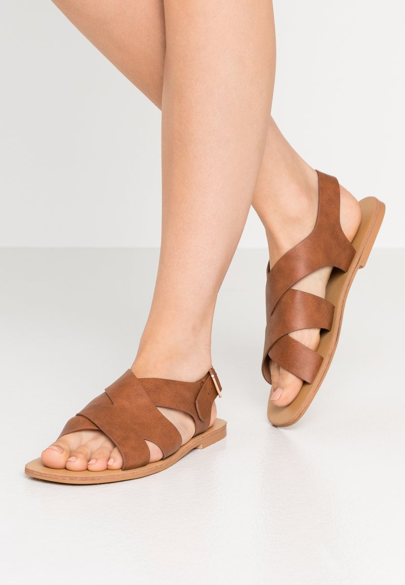 Glamorous Wide Fit - Sandals - tan