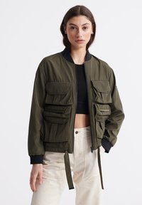 Superdry - NAMID - Bomber Jacket - bungee cord - 0