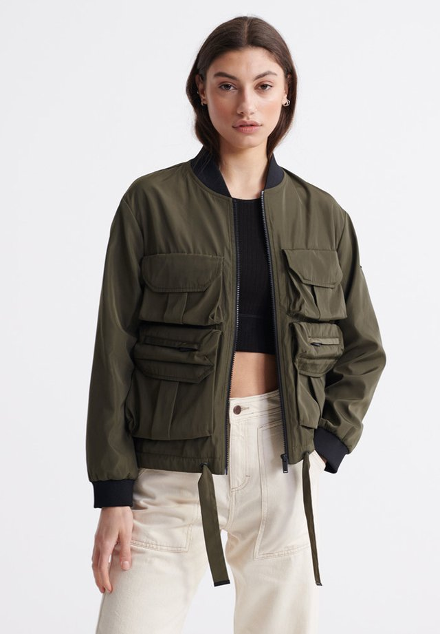 NAMID - Bomber Jacket - bungee cord