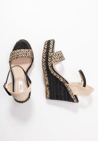 Pepe Jeans - OHARA LOGO - High heeled sandals - black - 3