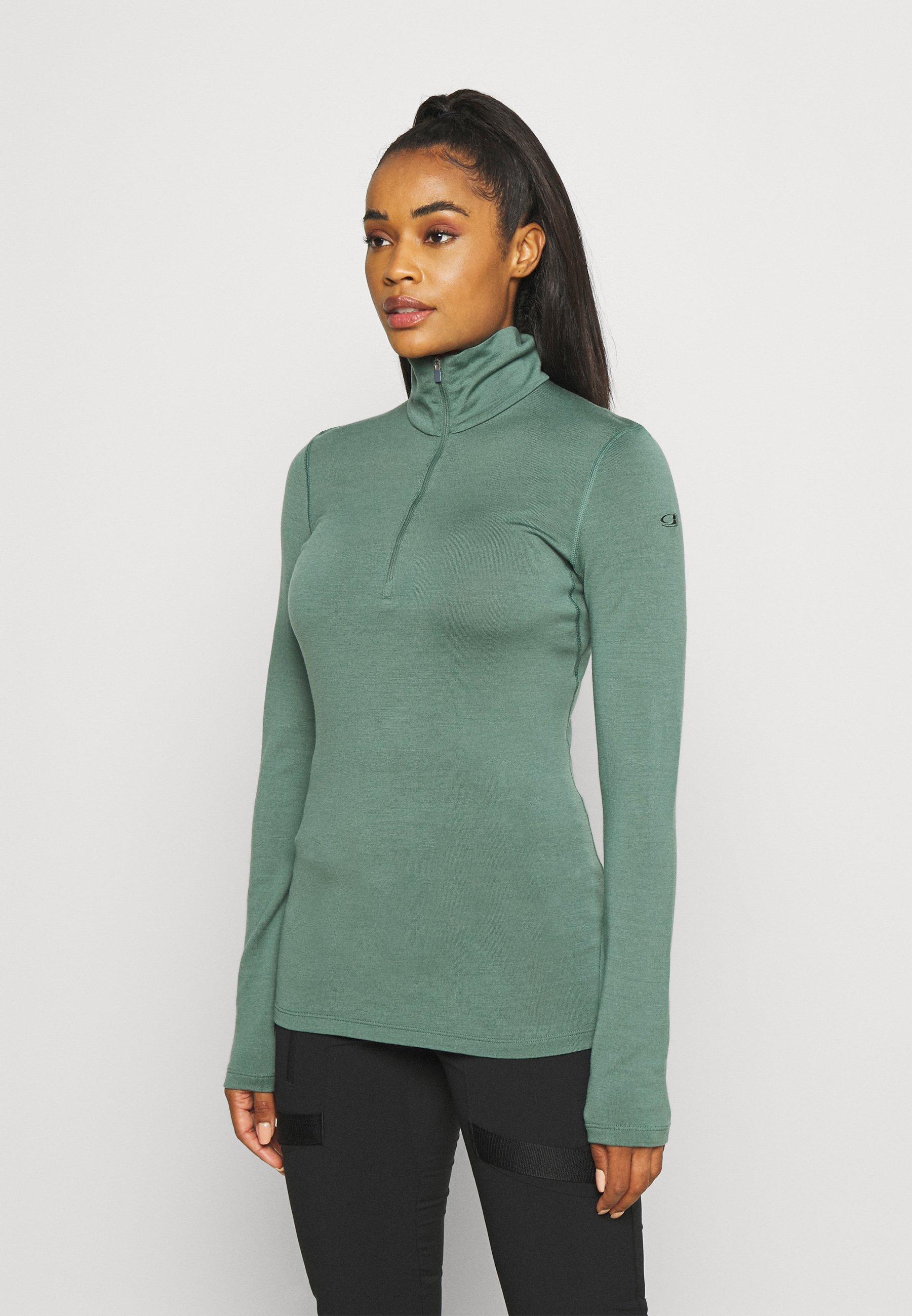 Women TECH HALF ZIP - Long sleeved top