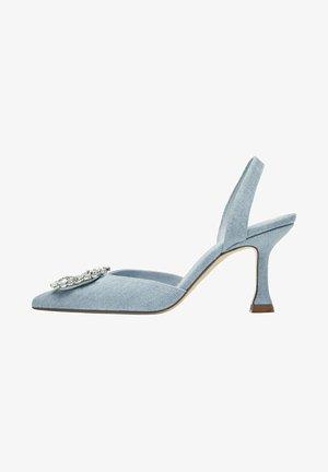 High heels - light blue