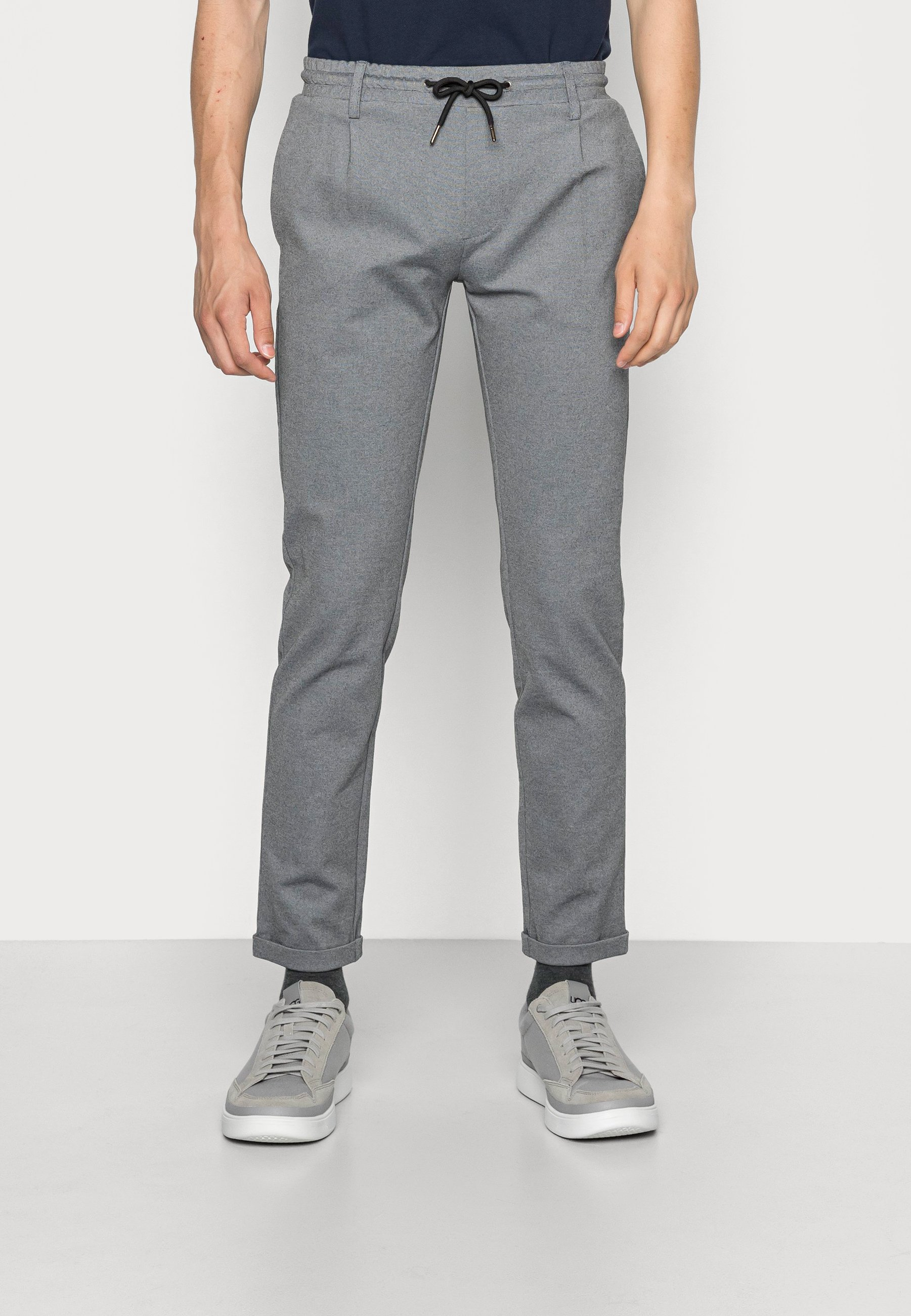 Homme EBERLEIN WITH ROLLED UP - Chino
