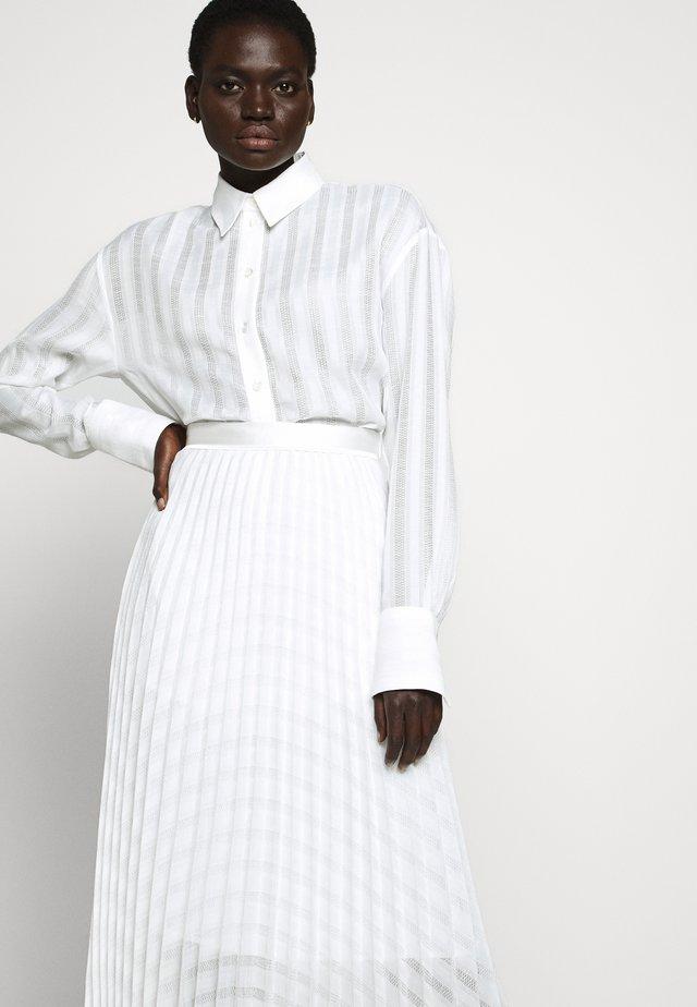 Áčková sukně - white