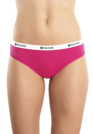 3 PACK - Thong - pink