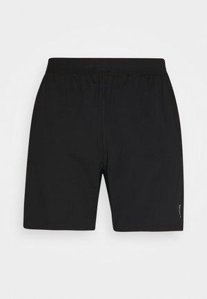 ELASTIC SHORTS - Sports shorts - black