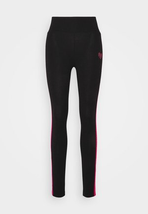 TANISHA TAPE LEGGING - Trikoot - black